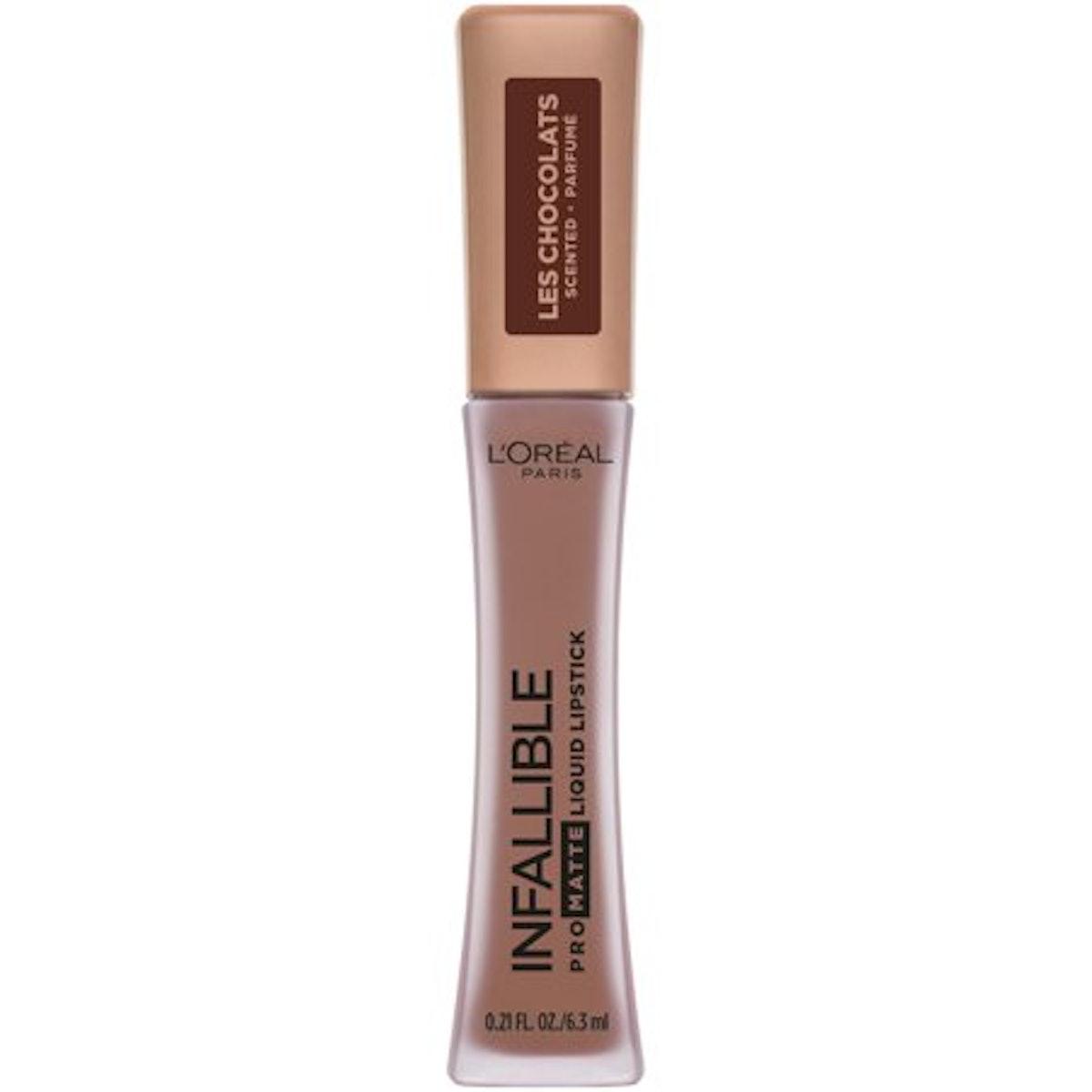"Infallible Pro Matte Les Chocolats Scented Liquid Lipstick in ""Bittersweet"""