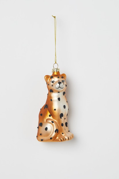 Christmas Ornament in Gold-Colored