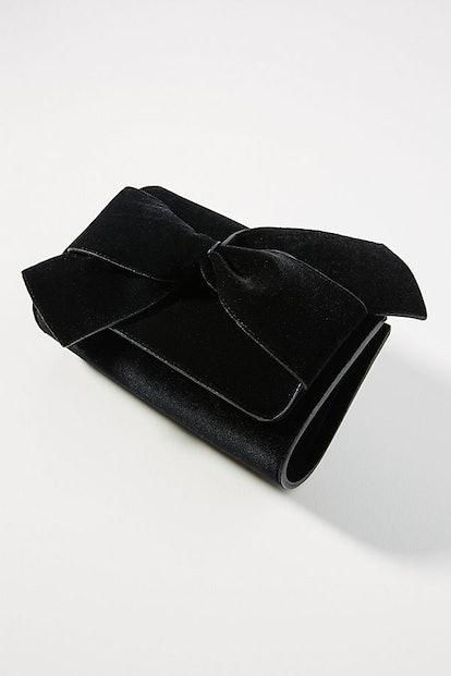 Belle Velvet Envelope Clutch