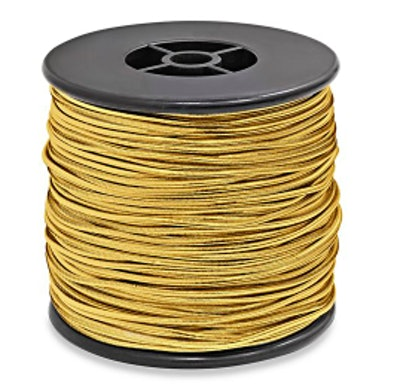 "Stretch Cording - 1⁄16"" x 50 yds, Gold"