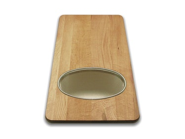 Snow River Over The Sink Cutting Board
