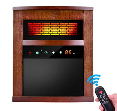 Trustech 1500W Portable Space Heater with Remote