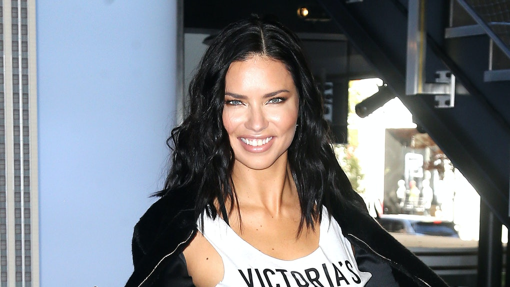 Adriana Lima Reveals The Touching Reason Shes Nervous About 2018 Victorias Secret Fashion Show EXCLUSIVE