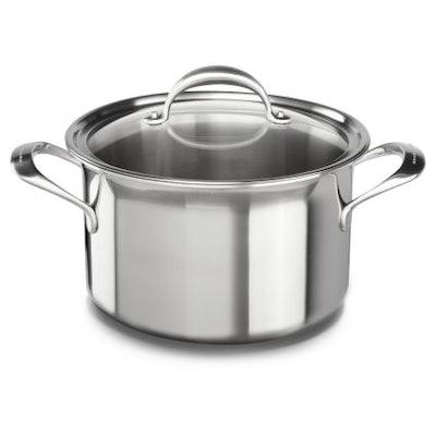 KitchenAid Copper Core Stockpot with Lid, 8 qt.