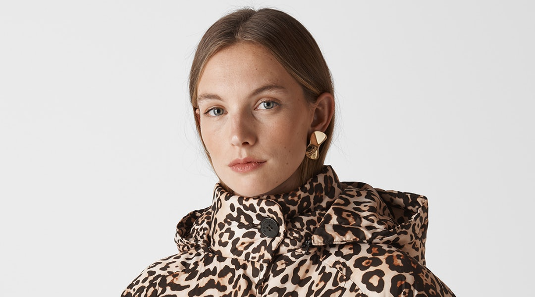 37f3ba6eabf6 The Animal Print Puffer Jacket Of Your Dreams Is Living At Whistles (Along  With More Outerwear Perfection)