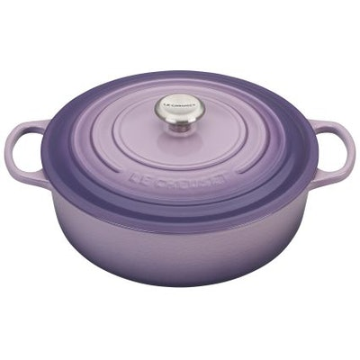 Le Creuset Round Wide Dutch Oven, 6.75 qt. in Provence