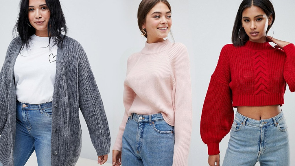 9b4639c0389d84 The 10 Best Sweaters From ASOS Under $50 Prove You Really Can Look Trendy  (& Cozy!) On A Budget