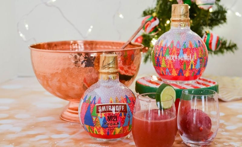 Smirnoff Has Vodka-Filled Ornaments You Can Hang On Your