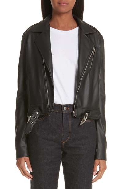 Simon Miller x Paramount Grease Faux Leather Biker Jacket