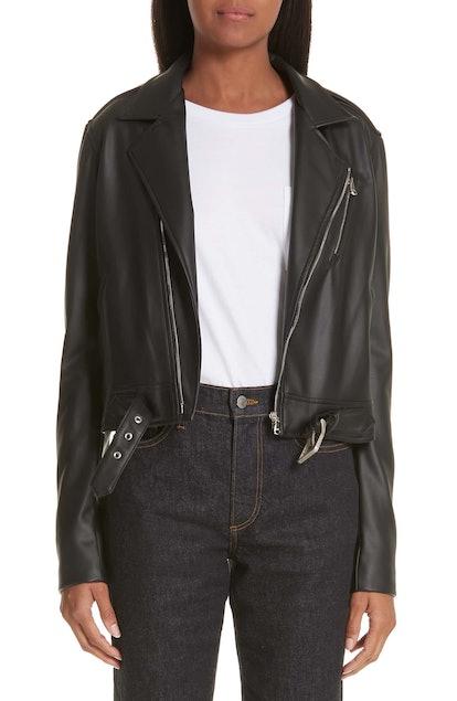 Simon Miller x Paramount Grease Faux Leather Biker Jacket