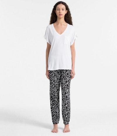 Calvin Klein PJ Pants In Simms Giraffe