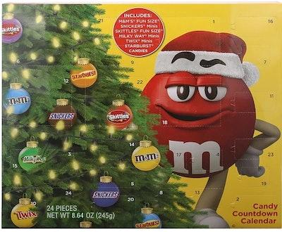 Mars Christmas Advent Calendar