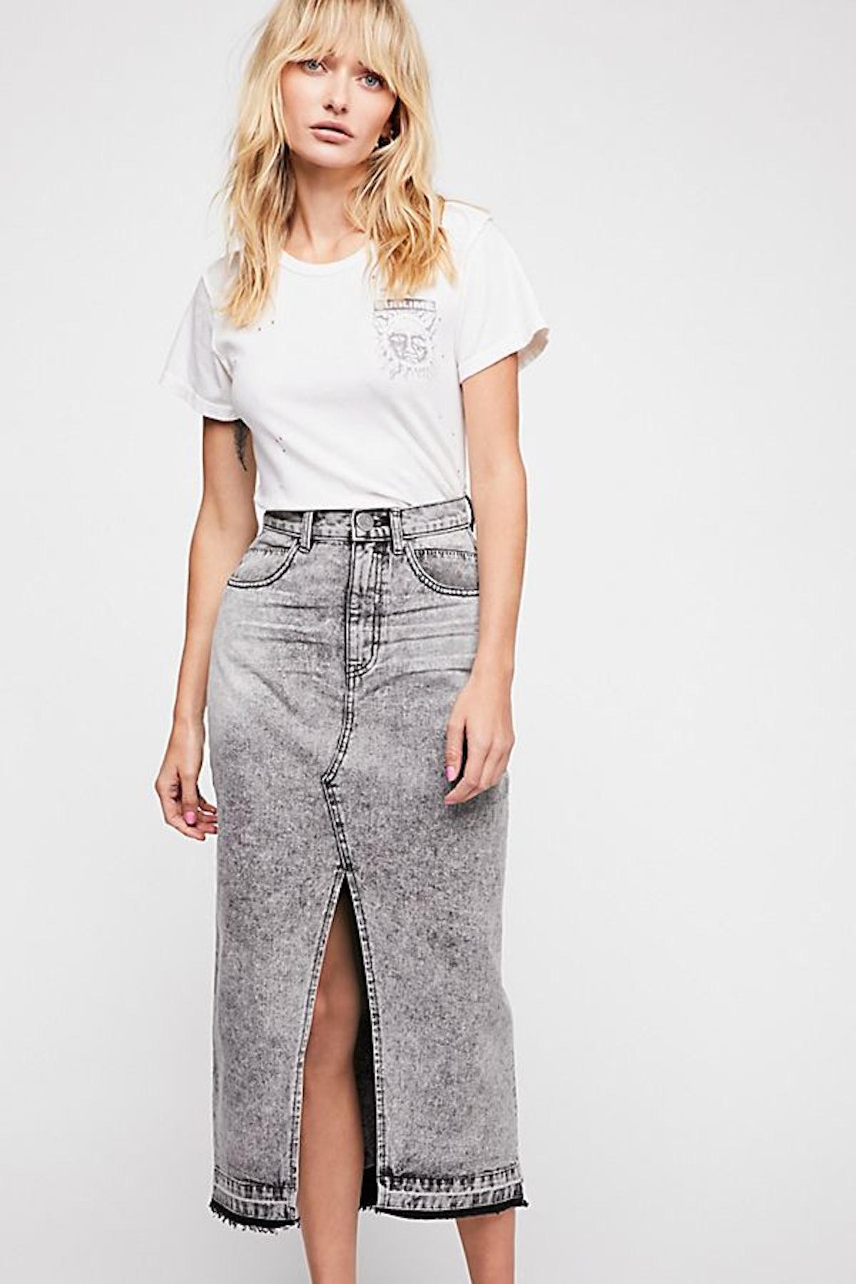 OneTeaspoon Rocko Denim Skirt