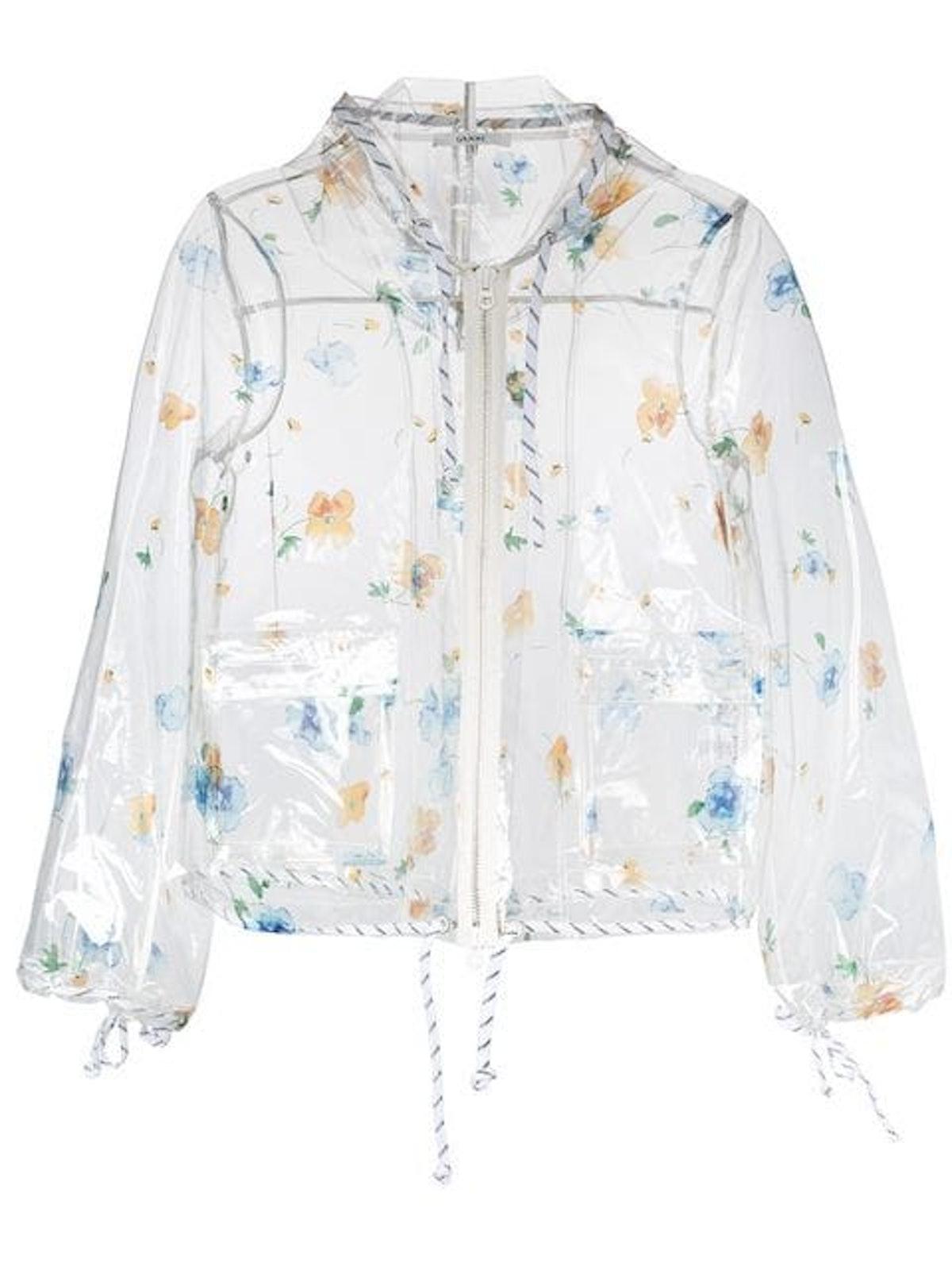 Floral Rain Jacket