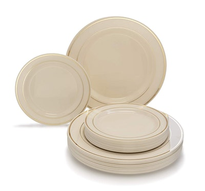 Occasions 50-piece Disposable Dinnerware Set