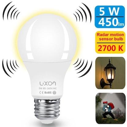Luxon Motion Sensor Light Bulb