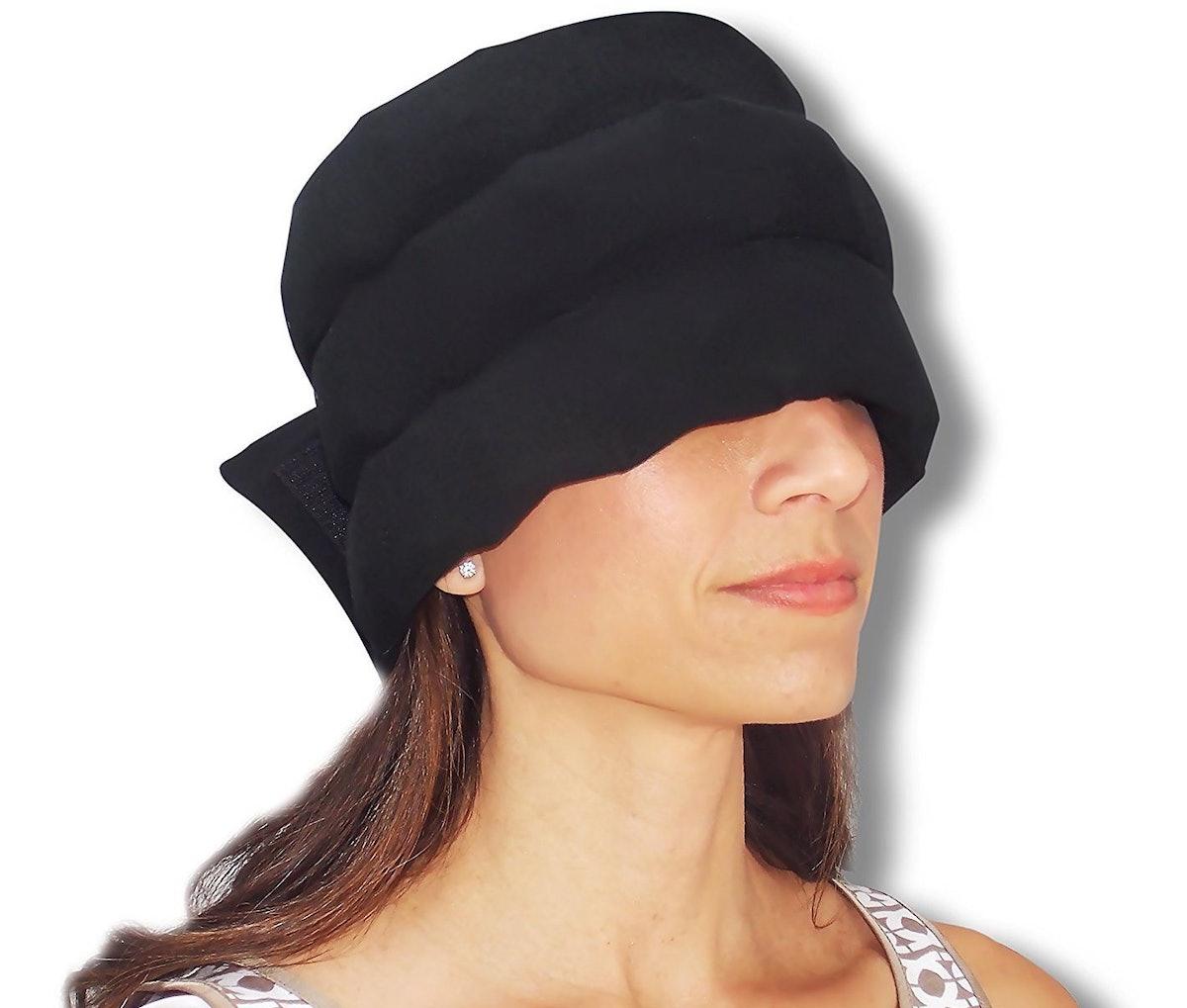 The Original Headache Hat Wearable Ice Pack
