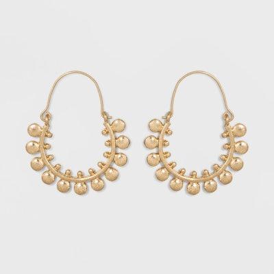 Universal Thread™ Gold Hoop Earrings