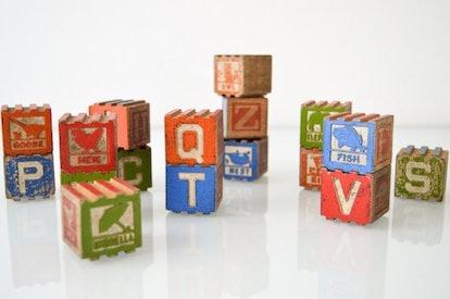Antique Baby Blocks