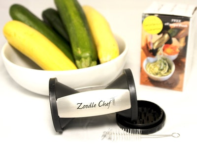 Lakemint Zoodle Chef Vegetable Spiralizer