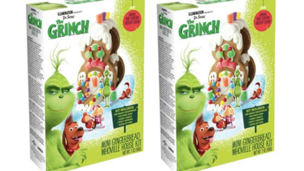 This Grinch Gingerbread House Kit Brings Whoville Home For The Holidays