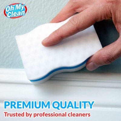 Oh My Clean Extra Durable Magic Cleaning Erasing Sponge (25 Pack)