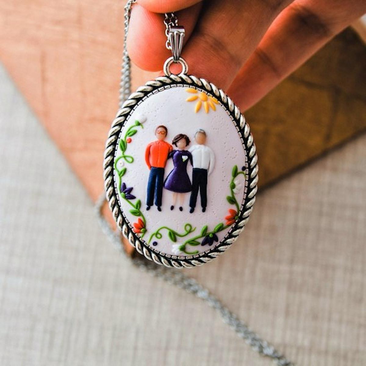 Family Portrait Necklace