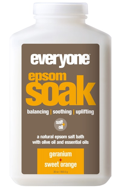 Everyone™ Geranium and Sweet Orange Epsom Salt Bath Soak