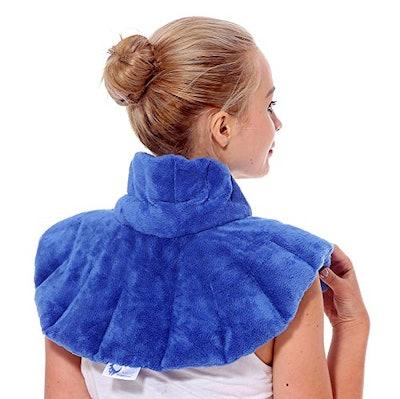 Huggaroo Heated Neck and Shoulder Wrap
