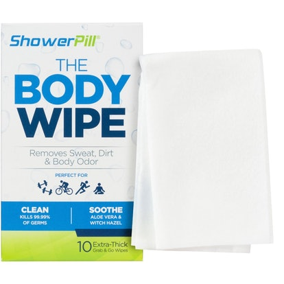 ShowerPill Athletic Body Wipes