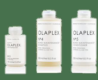 Olaplex No.'s 1, 2, and 3
