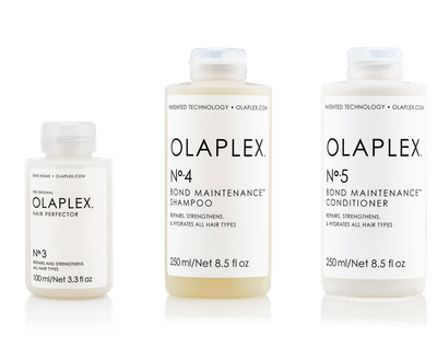 Olaplex No.'s 1, 2, and 3