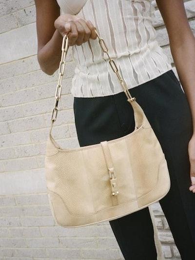 Y2K Snakeskin Gucci Handbag