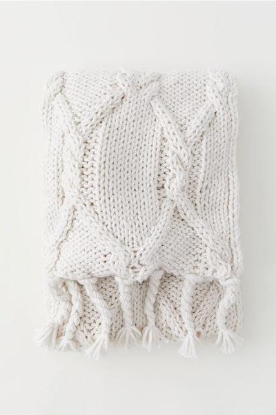 Textured Throw Blanket