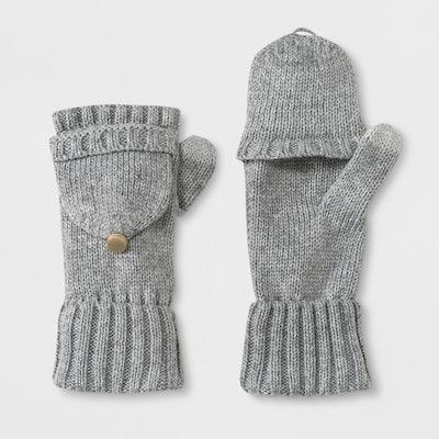 A New Day™ Women's Flip Top Gloves