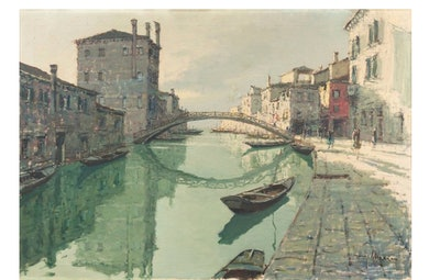 Misericordia Canal, Venice, C.1960