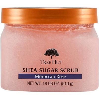 Tree Hut Moroccan Rose Shea Sugar Scrub, 18 oz