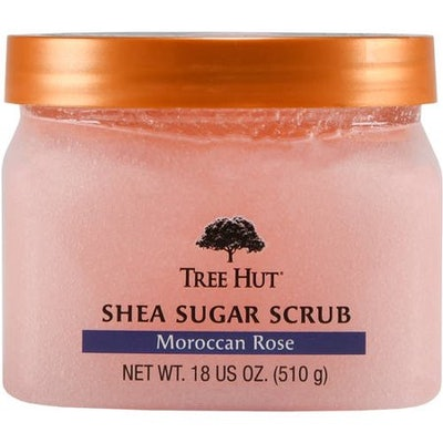 Tree Hut Moroccan Rose Shea Sugar Scrub, 18 oz