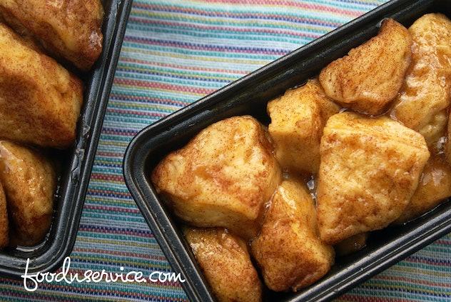 pan of monkey bread