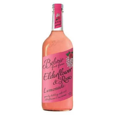 Belvoir Elderflower Rose Natural Sparkling Lemonade - 25.4 fl oz Glass Bottle