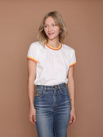 Double Trouble Ringer Tee
