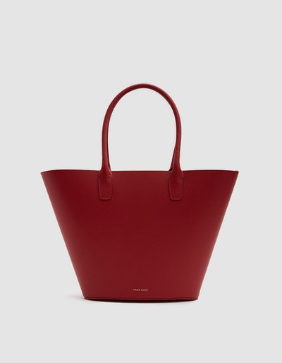 Triangle Tote in Flamma