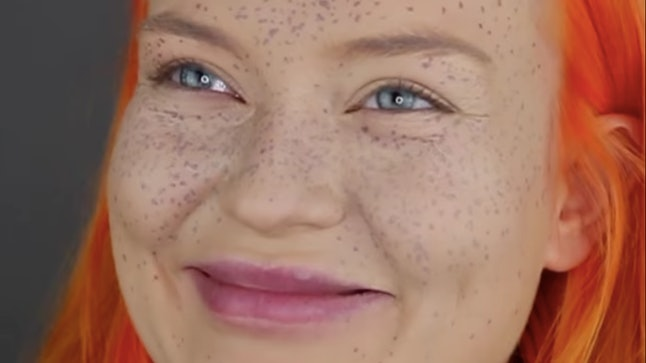 This Youtuber S Henna Semi Permanent Freckle Fail Is The Biggest