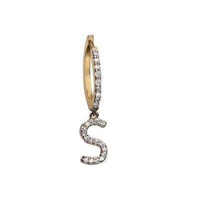 Gigi Pavé Huggie Earring