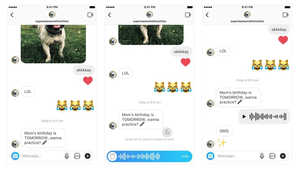 Why Can't I Send Voice Messages On Instagram? Here's How To