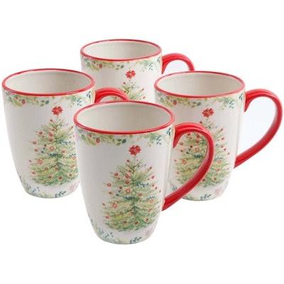 The Pioneer Woman Holiday Cheer 26 oz Jumbo Mug