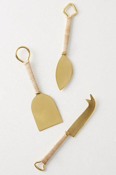 Mikata Cheese Knives, Set of 3