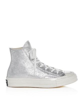 Chuck Taylor All Star 70 Metallic High Top Sneakers