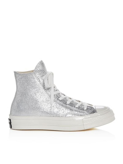 Chuck Taylor All Star 70 Metallic High Top Sneakers