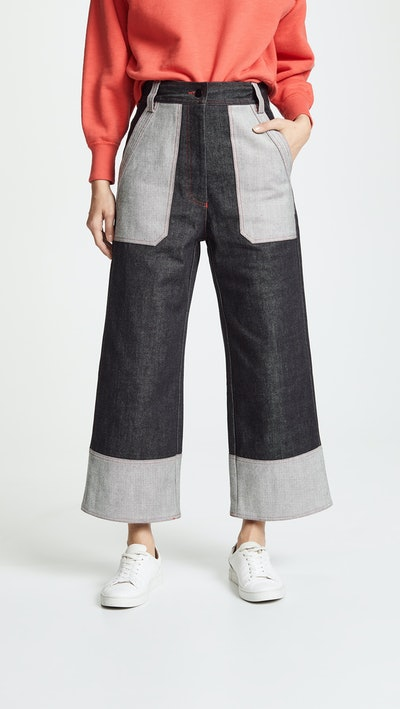 Japanese Denim Culotte Jeans